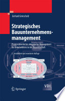 Strategisches Bauunternehmensmanagement