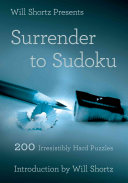 Will Shortz Presents Surrender to Sudoku