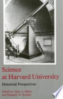 Science at Harvard University