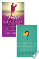 The 5 Love Languages Things I Wish I d Known Before We Got Married Set