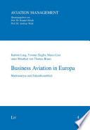 Business Aviation in Europa