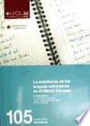 La enseñanza de las lenguas extranjeras en el marco europeo