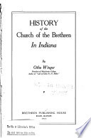 History of the Church of the Brethren in Indiana