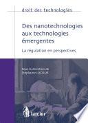 Des nanotechnologies aux technologies   mergentes
