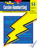 Power Practice Cursive Handwriting Ebook