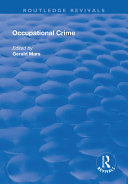 Occupational Crime