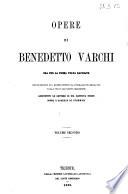 Opere Di Benedetto Varchi 2