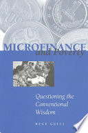Microfinance and Poverty