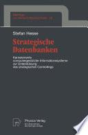 Strategische Datenbanken