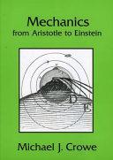 Mechanics from Aristotle to Einstein Book PDF