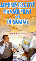 Administrative Management and Planning