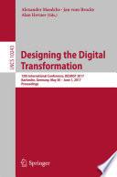 Designing the Digital Transformation
