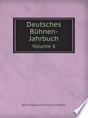 Deutsches B?hnen-Jahrbuch