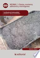 Pastas  morteros  adhesivos y hormigones  EOCB0108