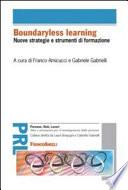 Boundaryless learning  Nuove strategie e strumenti di formazione