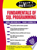 Schaum   s Outline of Fundamentals of SQL Programming