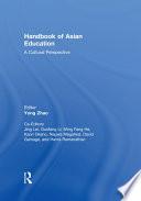 Handbook of Asian Education