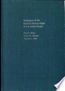 Catalogue of the Benthic Marine Algae of the Indian Ocean