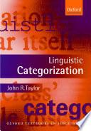 Linguistic Categorization book