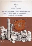 illustration Mediolanum e i suoi monumenti dalla fine del II secolo a. C. all'età severiana