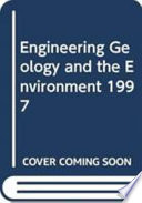 Engineering Geology and the Environment