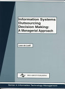 Information Systems Outsourcing Decision Making