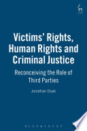 Victims  Rights  Human Rights and Criminal Justice
