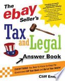 The EBay Seller s Tax and Legal Answer Book
