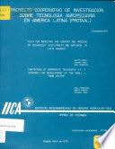 Proyecto Cooperativo de Investigacion Sobre Tecnologia Agropecuaria en America Latina (PROTAAL)