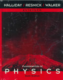 Fundamentals of Physics  A Student s Companion e Book to accompany Fundamentals of Physics