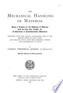 The Mechanical Handling of Material Book PDF