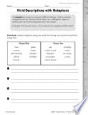 Vocabulary Acquisition And Use Similes Practice