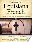 Dictionary of Louisiana French
