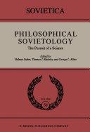 Philosophical Sovietology