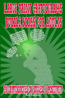 Large Print Cryptograms Puzzle Books for Adults  291 Cryptoquotes on Success and Positivity