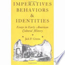 Imperatives  Behaviors  and Identities