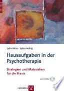 Hausaufgaben in Psychotherapie
