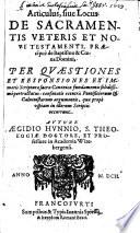 Articulus de Sacramentis V  et N  Test