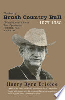 The Best of Brush Country Bull 1977 1980