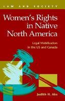 Women s Rights in Native North America Book PDF