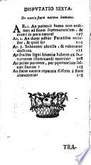 Tractatus de Peccato originali
