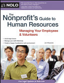 Nonprofit s Guide to Human Resources  The
