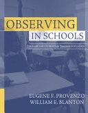 Observing in schools