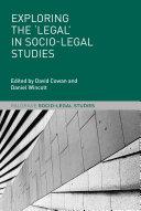 Exploring the  Legal  in Socio Legal Studies