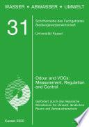 Odours and VOCs  Measurement  Regulation and Control Techniques