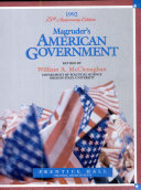 Magruder s American Government  1992