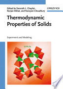 Thermodynamic Properties Of Solids book
