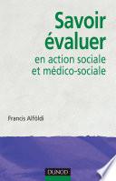 Savoir   valuer en action sociale et m  dico sociale