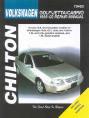Chilton s Volkswagen Golf Jetta Cabrio 1999 02 Repair Manual
