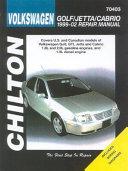 Chilton's Volkswagen Golf/Jetta/Cabrio 1999-02 Repair Manual